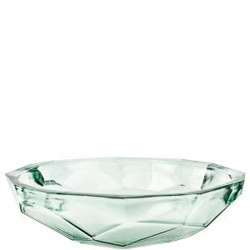 123.1 oz Origami Recycled Glass Bowl