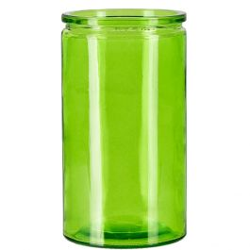 16oz calypso glass jar lime