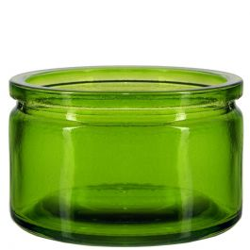 4oz calypso glass jar lime