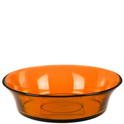 Cuban Recycled Glass Bowl - Orange