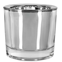 2.5 oz Heavy Glass Votive Candle Holder
